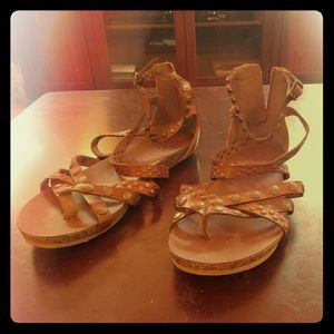 Blowfish gladiator sandals